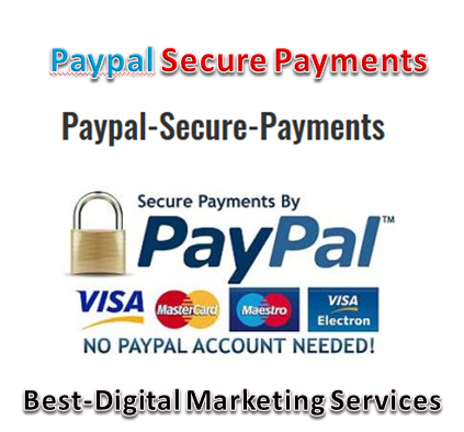 Best-Digital Marketing Services - paypal secure payments