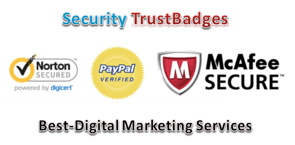 Best-Digital Marketing Services - security trust badges
