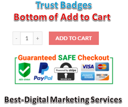 Best-Digital Marketing Services - trust badges bottom- below add to cart button