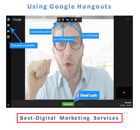 Best-Digital Marketing Services - using google hangouts