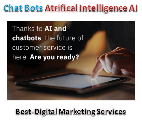 Chat Bots Atificial Intelligence AI