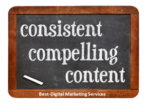 Consist of compelling content
