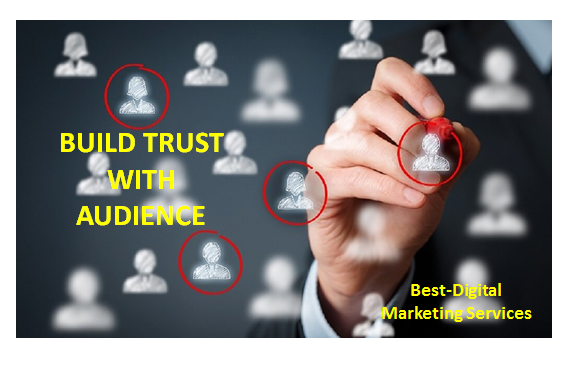 Content Marketing Buils trust with audience