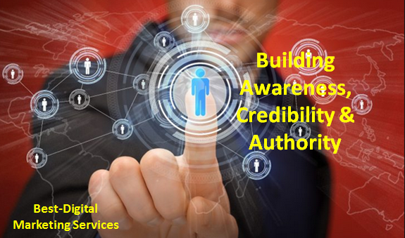 Content builds awareness, credibility and Authority