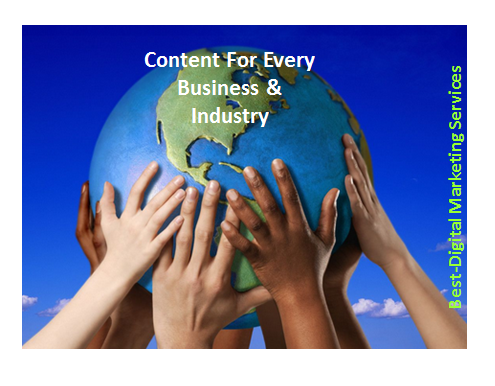Content is for every business & Industry