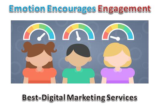 Emotions encourage engagements