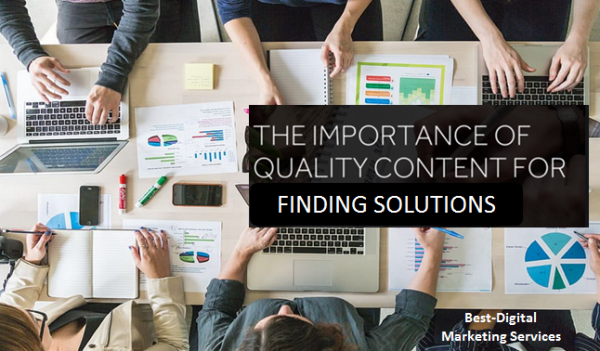The importance of quality Content