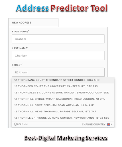 address predictor tool