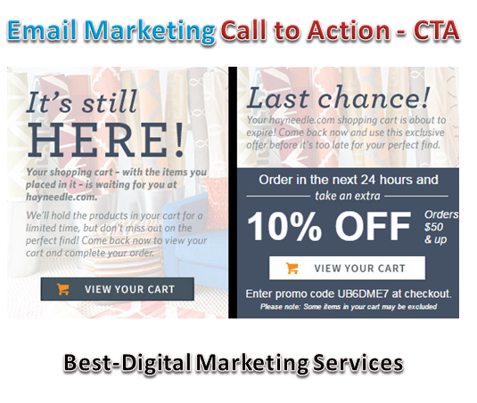 email marketing call to action - cta