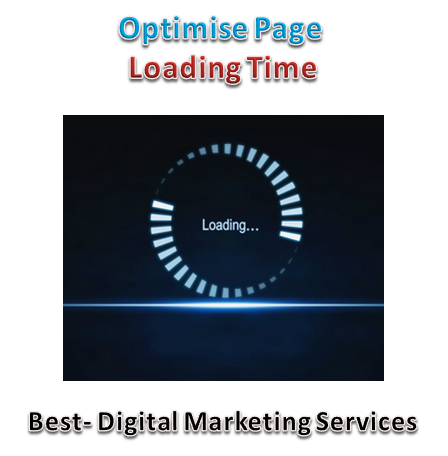 optimise page loading time