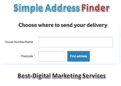 simple address finder