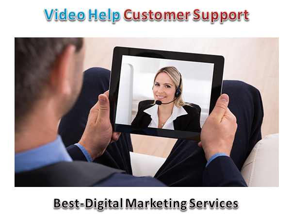 video helps customer supportvideo helps customer support