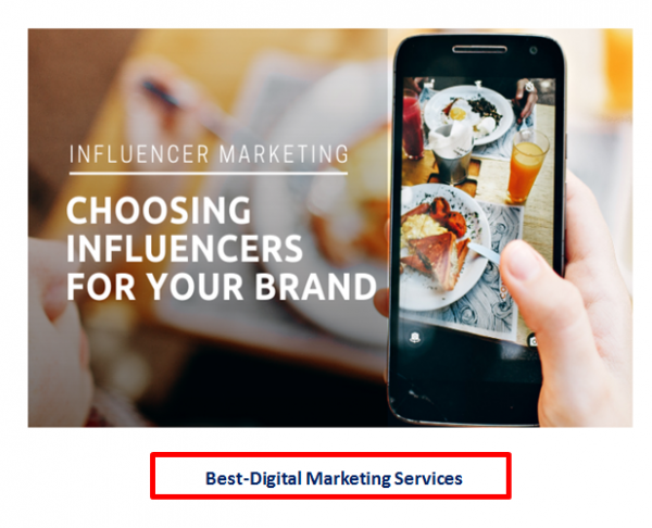 Best-Digital Marketing - Choosing Influencers for your Brand