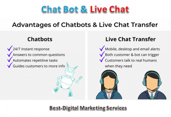 Chat Bot & Live Chat