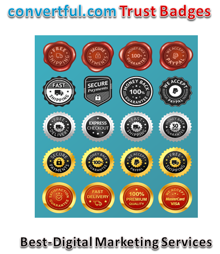 Convertful Trust Badges - Seals