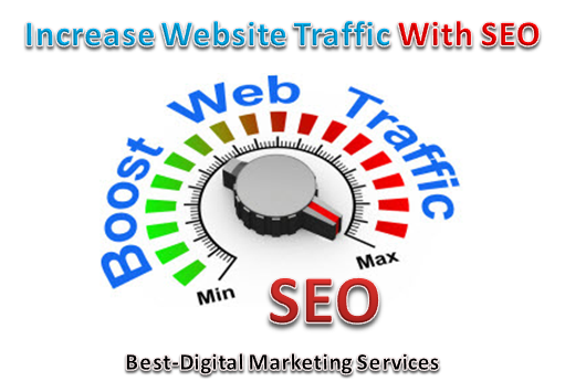 Increase -Drive website traffic using SEO