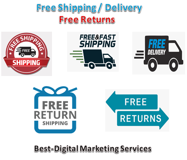Free Shipping - Delivery & Free Returns