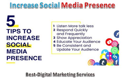 Increase Social Media Presence