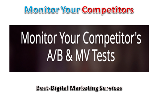 Monitor Your Competitors
