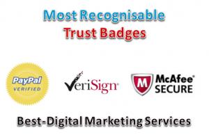 Most Recognisable Trust Badges