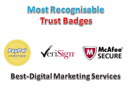 Most Recognisable Trust Badges