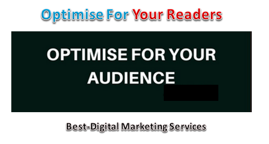 Optimise For Your Audience