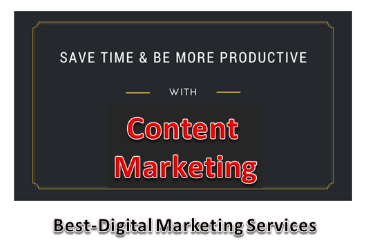 Save Time & Be Productive With Content Marketing