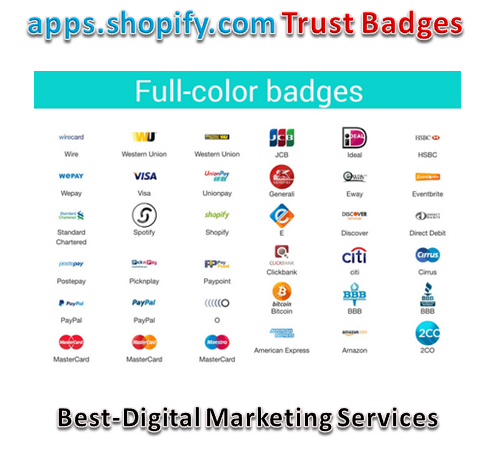 Shopify Trust Badges -Seals