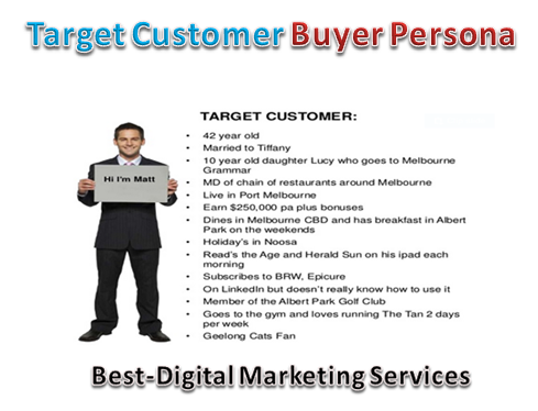 Target Customer Buyer Persona