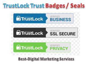 TrustLock Trust Badges -Seals