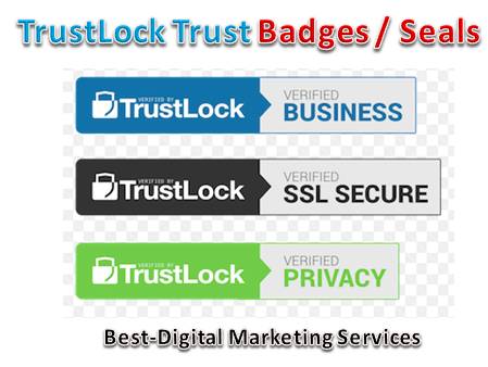 TrustLock Trust Badges -Seals