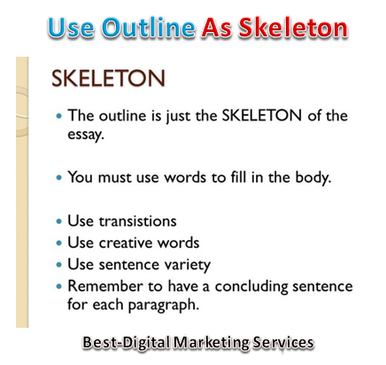 Use Outline As Skeleton