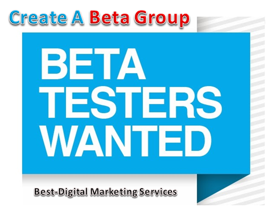 Create a Beta Group