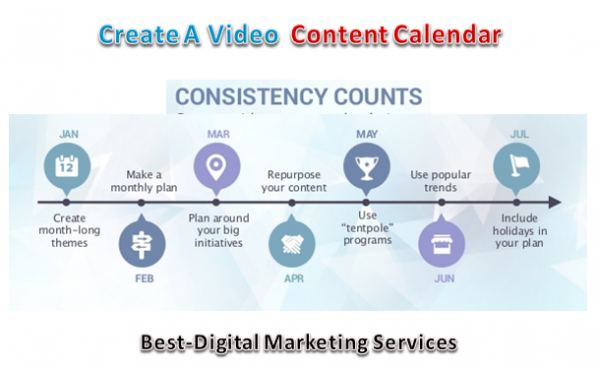 Create a Video Content Calendar
