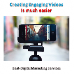 Creating video is much easier