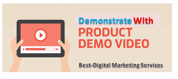 Demonstrate With product demo video