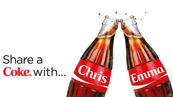 Share a coke with ....