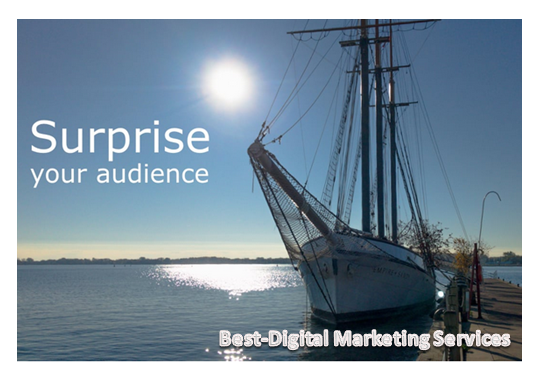 Surprise Your Audience