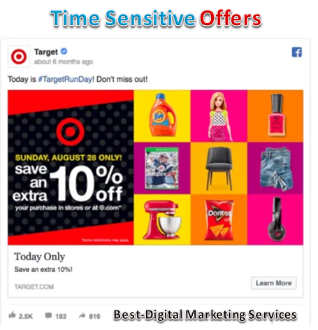 Time Sensitive Offers