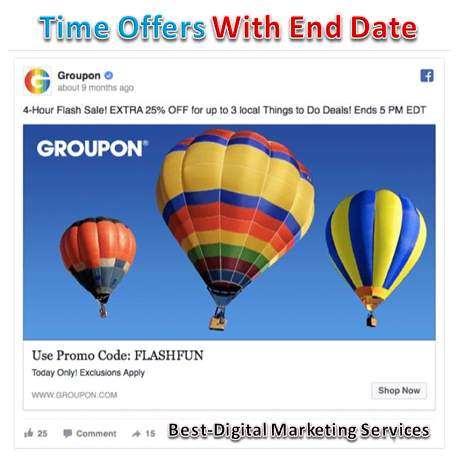 Time Offer With End Date