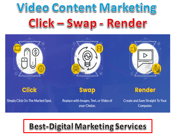 Video Content Marketing - Click-Swap-Render