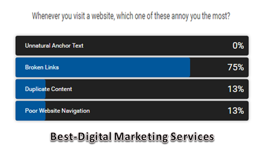 What annoys you the most on a website