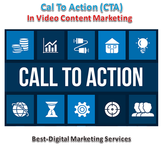 CTA in video Content Marketing