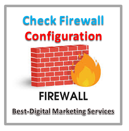 Check Firewall Configuration