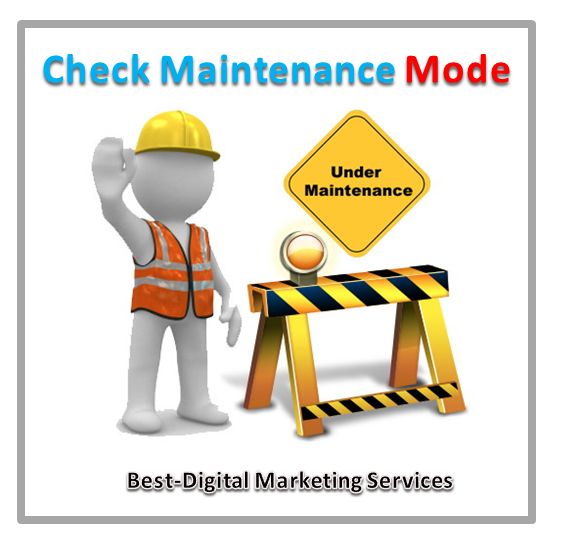 Check Maintenance Mode