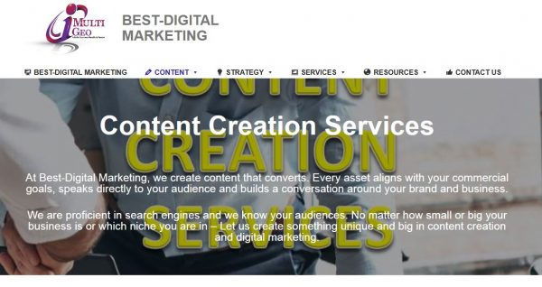 Content Creation Services