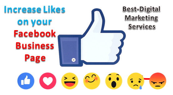 Increase Likes on your FB Business Page