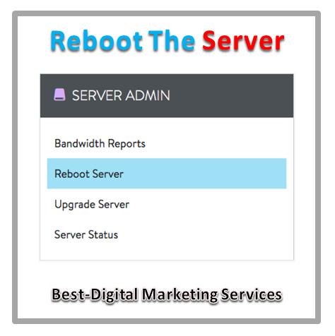 Reboot The Server