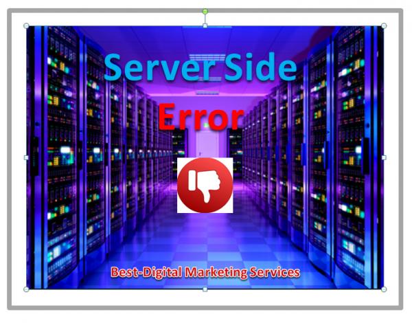 Server Side Error