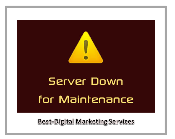 server down for maintenance